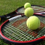Tennis racquets picture